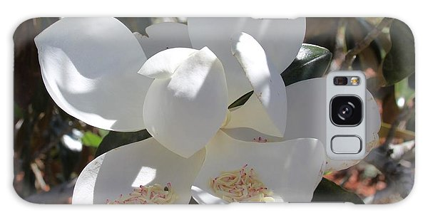 Magnificent Magnolia Galaxy Case