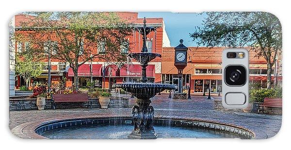 Magnolia Squmagnolia Square Fountain Galaxy Case