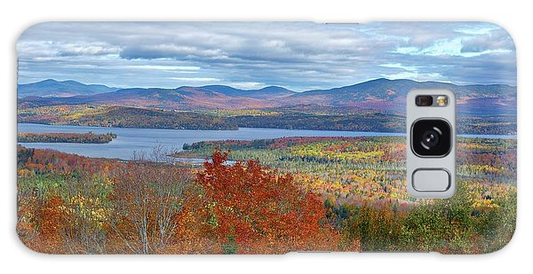 Maine Fall Colors Galaxy Case