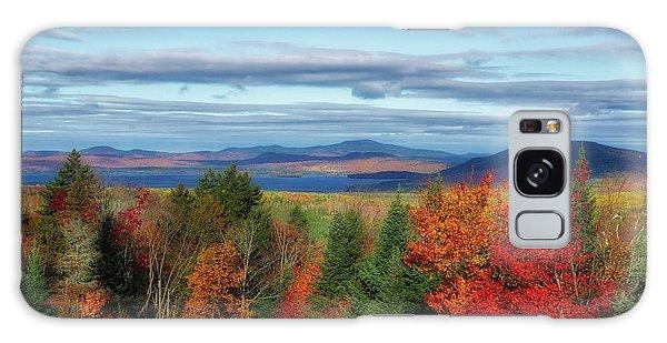 Maine Fall Foliage Galaxy Case