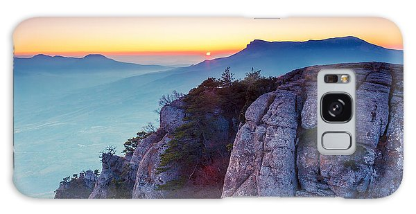 Ecology Galaxy Case - Majestic Morning Mountain Landscape by Creative Travel Projects