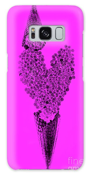 Cold Day Galaxy Case - Making Chocolate Love by Jorgo Photography - Wall Art Gallery