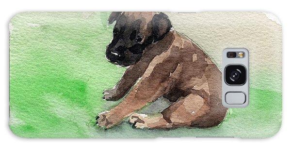 Malinois Pup 3 Galaxy Case
