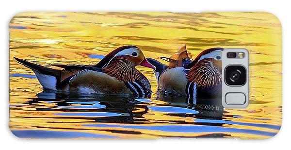 Mandarin Ducks Galaxy Case