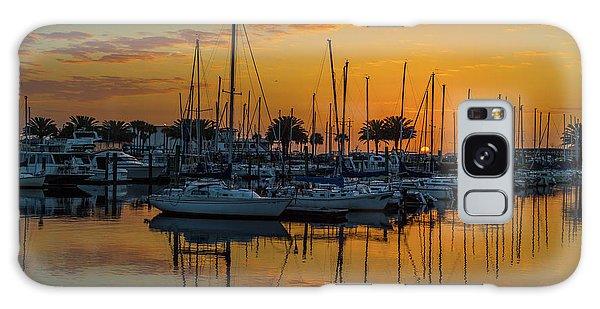 Marina Sunrise-3 Galaxy Case