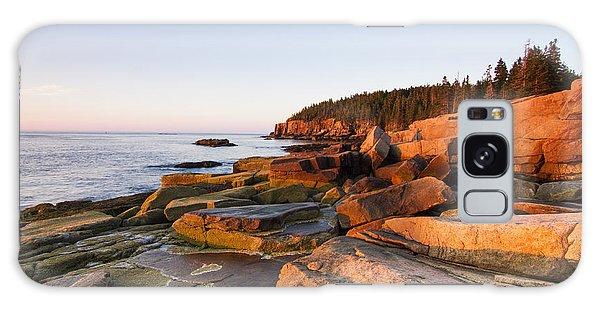 Tide Galaxy Case - Marine Landscape In Acadia, Park Loop by Mircea Costina