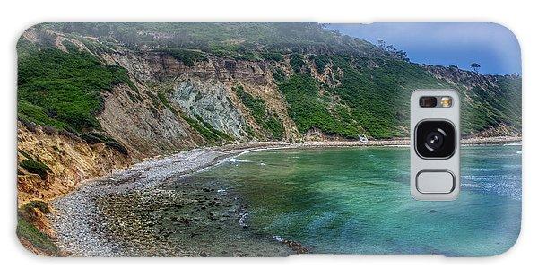 Marine Layer Over Bluff Cove Galaxy Case