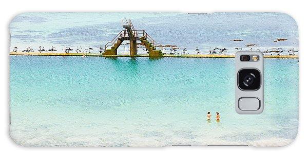 Bath Galaxy Case - Marine Swimming Pool From Sain-malo by Jose Ignacio Soto