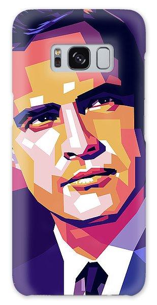 Marlon Brando Illustration Galaxy Case