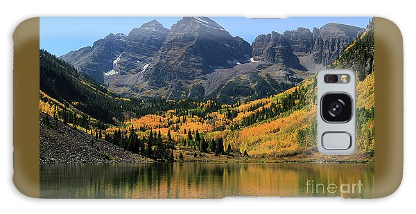 Maroon Bells In Fall Galaxy Case
