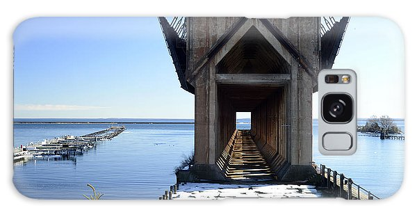Marquette Ore Dock Cathedral Galaxy Case