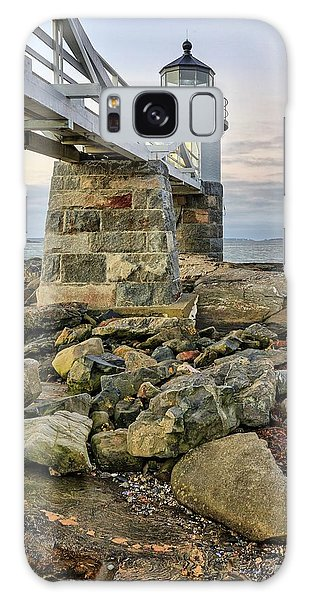 Marshall Point Light From The Rocks Galaxy Case
