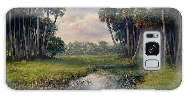 Old Florida Galaxy Case - Martin County Highway by Laurie Snow Hein