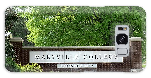 Maryville College Sign Galaxy Case