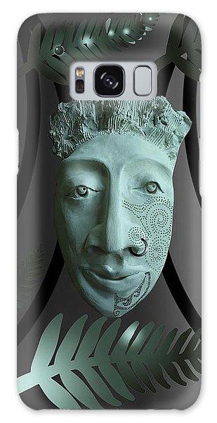 Mask The Maori Warrior Galaxy Case