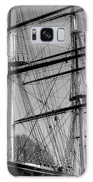 Masts And Rigging Of The Cutty Sark Galaxy Case