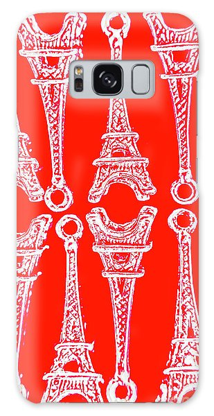 French Galaxy Case - Match Made In Paris by Jorgo Photography - Wall Art Gallery