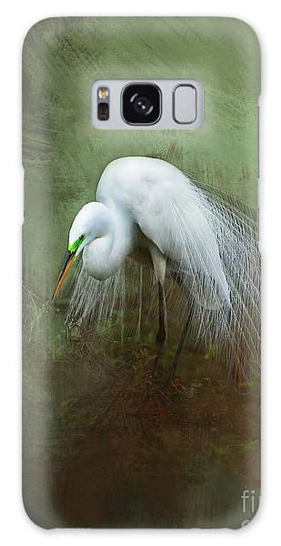 Egret Galaxy Case - Mating Season by Marvin Spates