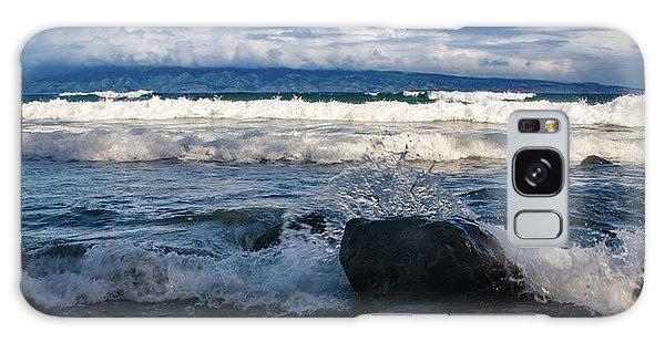 Maui Breakers Pano Galaxy Case