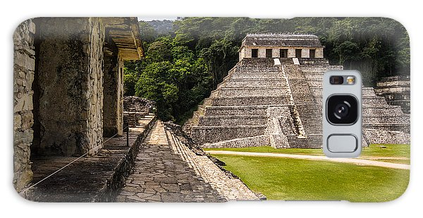 Mexican Galaxy S8 Case - Mayan Ruins In Palenque, Chiapas by Photoshooter2015