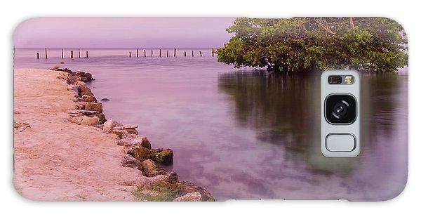 Mayan Sea Reflection 2 Galaxy Case
