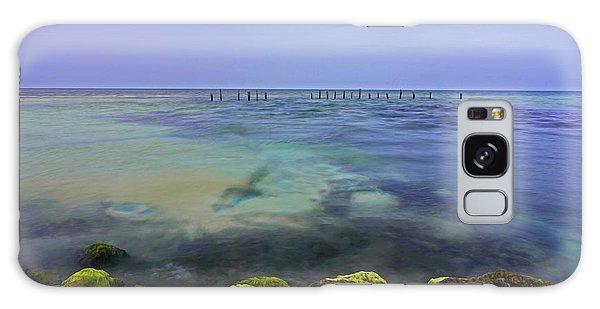 Mayan Sea Rocks Galaxy Case