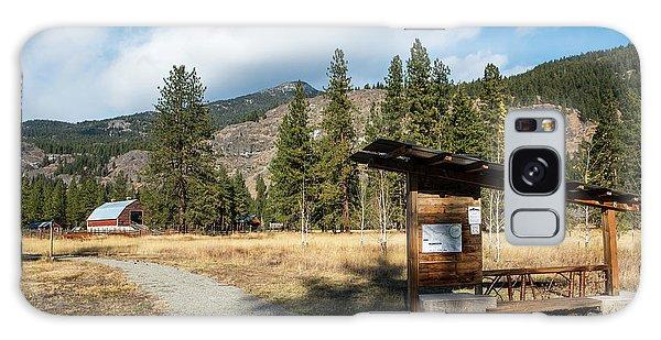 Mazama Barn Trail And Bench Galaxy Case