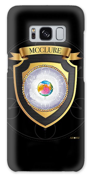 Mcclure Family Crest Galaxy Case