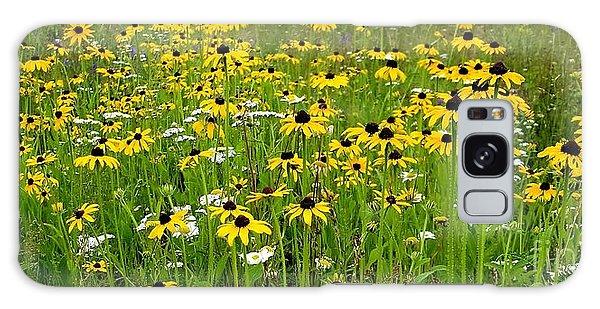 Meadow Flowers 1 Galaxy Case