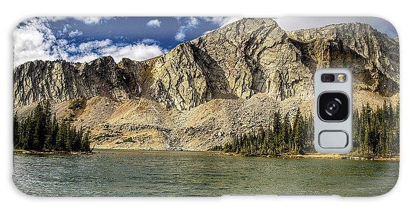 Medicine Bow Peak Galaxy Case