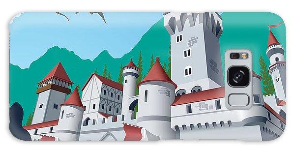 Majestic Galaxy Case - Medieval Castle by Nikola Knezevic