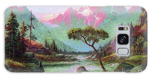 Foliage Galaxy Case - Serenity Meditation by Jane Small
