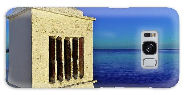Mediterranean Chimney In Algarve Galaxy Case