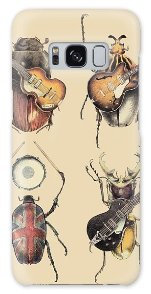 Classic Rock Galaxy Case - Meet The Beetles by Eric Fan