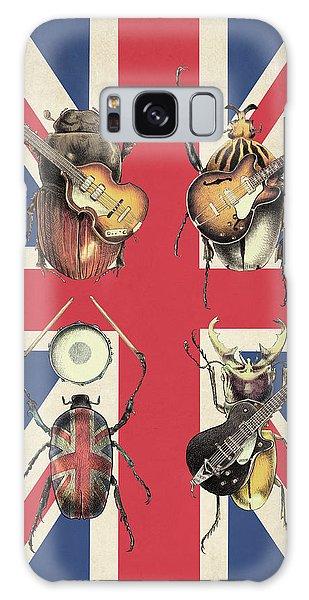 Drum Galaxy Case - Meet The Beetles - Union Jack by Eric Fan