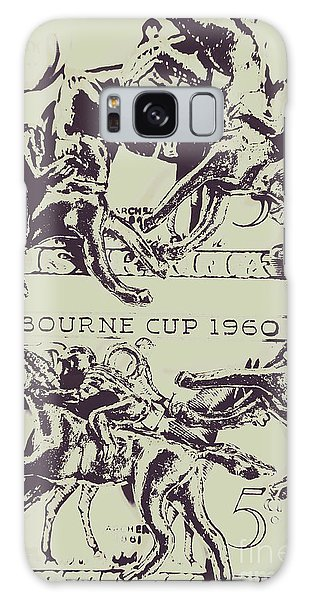 Race Galaxy Case - Melbourne Cup 1960 by Jorgo Photography - Wall Art Gallery
