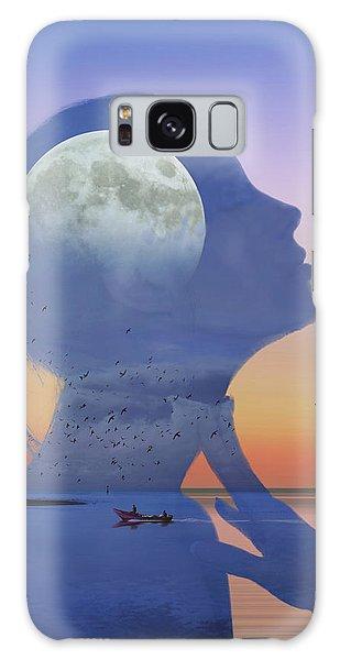 Melting Night Galaxy Case