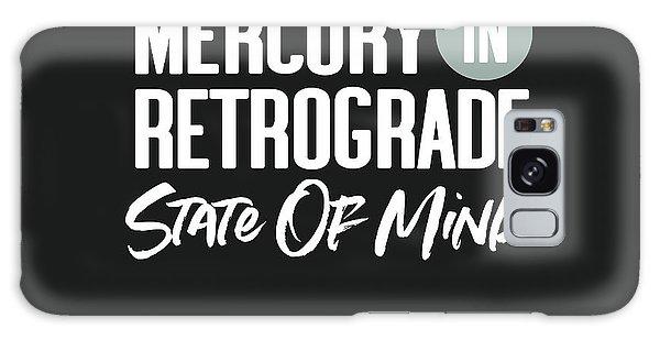 Mercury Galaxy Case - Mercury In Retrograde State Of Mind- Art By Linda Woods by Linda Woods
