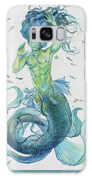 Merman Clyde Galaxy Case