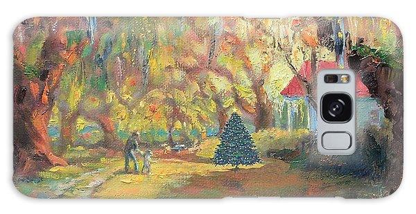 Merry Little Christmas Galaxy Case
