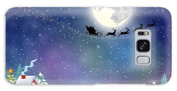 Santa Claus Galaxy Case - Meryy Christmas And Happy New Year by Drogatnev