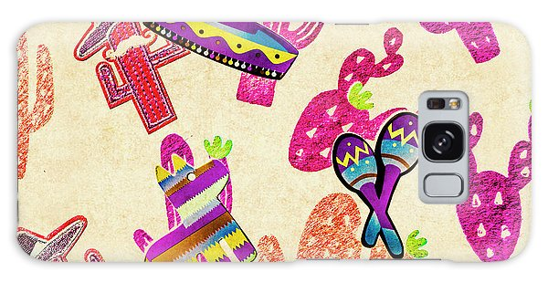 Cacti Galaxy Case - Mexican Mural by Jorgo Photography - Wall Art Gallery