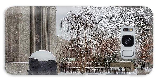 Mfa Boston Winter Landscape Galaxy Case