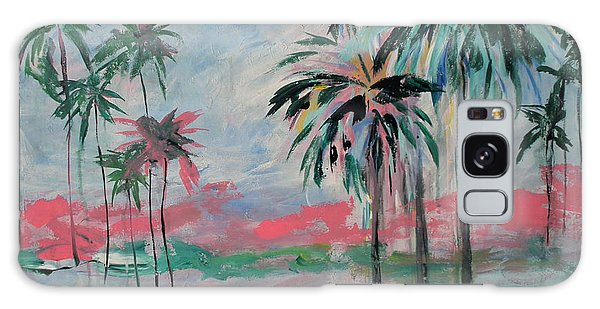 Miami Palms Galaxy Case