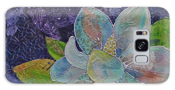 Bloom Galaxy Case - Midnight Magnolia II by Shadia Derbyshire