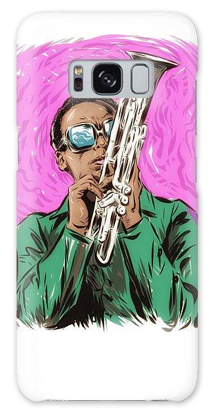 Hard Bop Galaxy Case - Miles Davis - An Illustration By Paul Cemmick by David Richardson