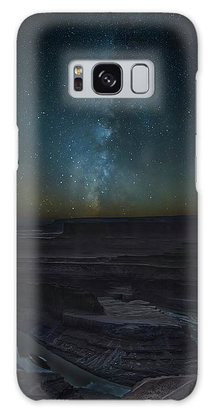 Galaxy Case featuring the photograph Milky Way Over Dead Horse Point by David Morefield