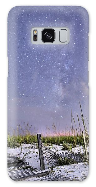 Milky Way Over The Beach Galaxy Case