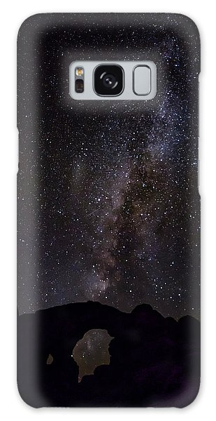 Galaxy Case featuring the photograph Milky Way Over The Windows by David Morefield