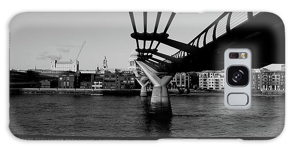 Galaxy Case featuring the photograph Millennium Bridge  by Edward Lee